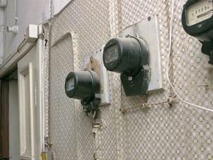Электросчетчики. Фото с сайта www.ogoniok.ru