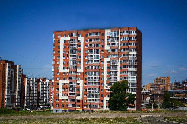 Новостройка в Иркутске. Фото IRK.ru