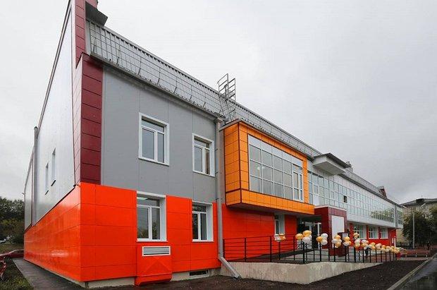 Физкультурно-оздоровительный комплекс в микрорайоне Юбилейный. Фото пресс-службы правительства региона.