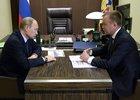 На встрече. Фото с сайта www.kremlin.ru