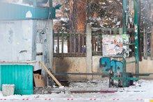 На месте взрыва. Автор фото — Илья Сакулин.
