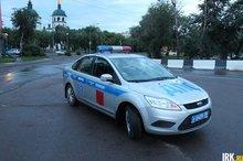 Машина ДПС. Фото ИА «Иркутск онлайн»