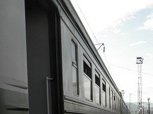 Поезд. Фото Анастасии Украинской