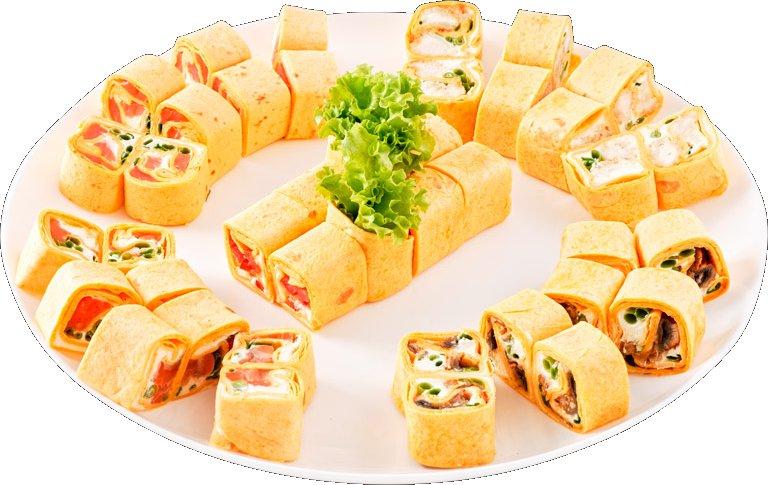 Суши из тортильи рецепт