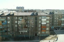 Многоквартирный дом. Фото ИА «Иркутск онлайн»