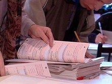 Проверка заполненных бланков. Фото из архива АС Байкал ТВ