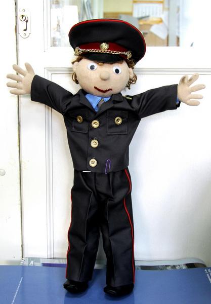 Полицейский своими руками пошагово