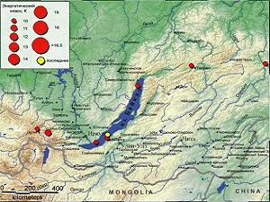 Незначительное землетрясение произошло в Иркутской области 24 мая ...