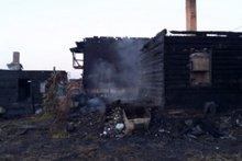 Сгоревший дом. Фото www.38.mchs.gov.ru