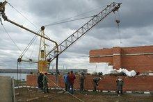 На стройплощадке. Фото пресс-службы УФМС России по Иркутской области