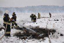 Тушение торфяников. Фото с сайта 38.mchs.gov.ru