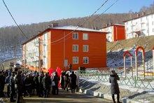 Новый микрорайон в Слюдянке. Фото пресс-службы правительства Иркутской области