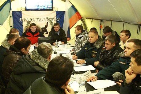 На выездном совещании. Фото пресс-службы правительства Иркутской области