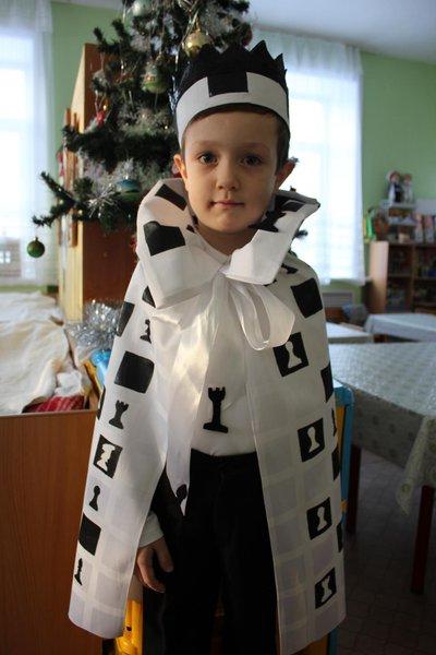 Как сделать костюм короля для мальчика