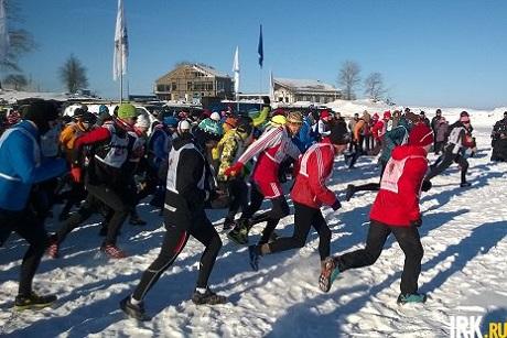 Участники марафона. Фото ИА«Иркутск онлайн»