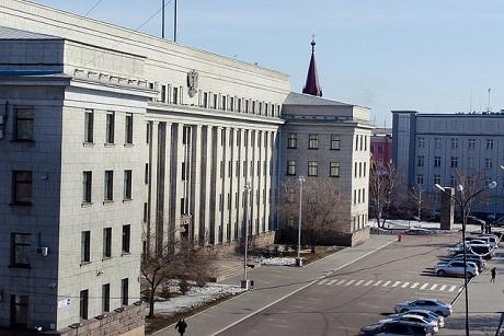 «Серый дом». Фото ИА «Иркутск онлайн»
