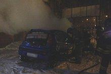 На месте пожара. Фото ГУ МЧС России по Иркутской области