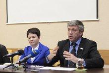 Светлана Кузнецова и Алексей Красноштанов. Фото ИА «Иркутск онлайн»