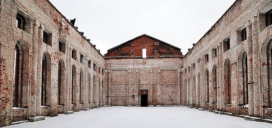 На территории училища. Автор фото — Мария Оленникова, IrkutskMedia