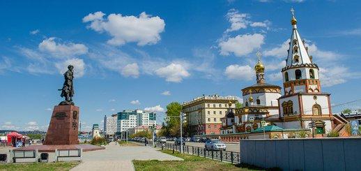 Иркутские фотопрогулки: Зелёная линия (Часть 1)