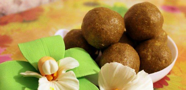 Индийская сладость «Ладду»