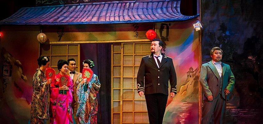 """Бурятский театр оперы и балета. Опера """"Чио-Чио-Сан"""""""