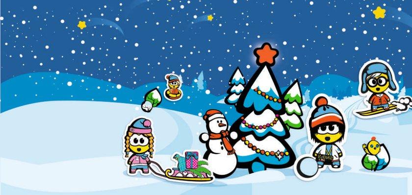 """Новогодняя ёлка для детей от """"Дом.ru"""" и телеканала """"Детский"""""""