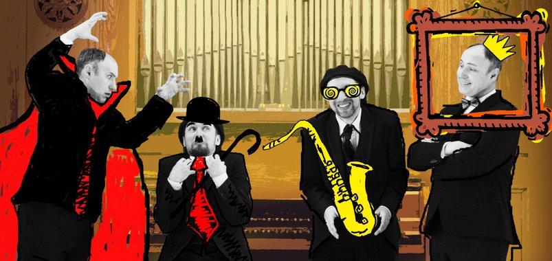 Sax&Organ*. Страшно смешно