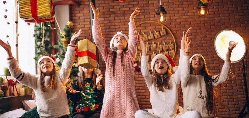Новогодние вечеринки для школьников
