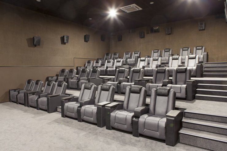 Зал New Laser Cinema