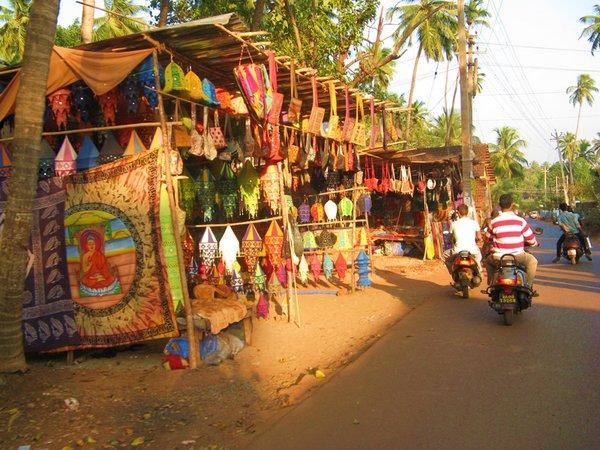 Рынок в Аранбол, Гоа. Фото с сайта www.tonkosti.ru