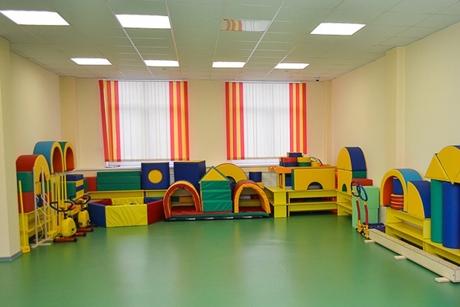 В детском саду. Фото Ильи Татарникова