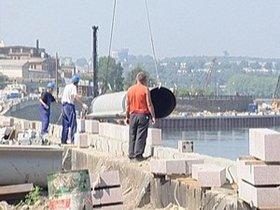 Новая набережная в Иркутске строится с отставанием от графика