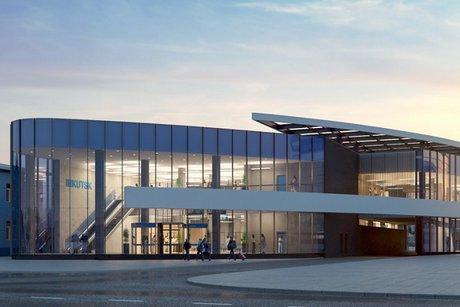 Эскизный проект. Фото пресс-службы аэропорта Иркутска