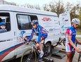 Подготовка к шоссейной велогонке