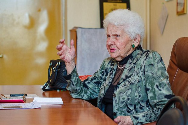 Галина Горева. Фото ИА «Иркутск онлайн»