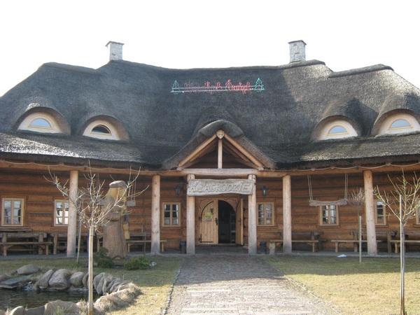 Придорожное кафе в Польше