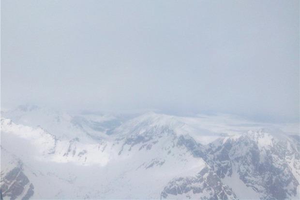 Вид с вершины.