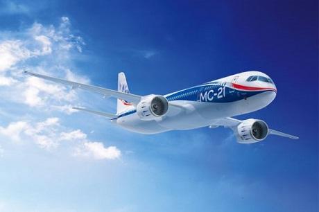 Самолет МС-21. Фото с сайта www.irkut.com