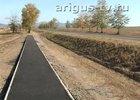 Тротуар вдоль федеральной трассы в Иволгинском районе Бурятии. Скриншот с сайта www.arigus-tv.ru.