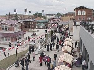 На открытии квартала. Фото АС Байкал ТВ