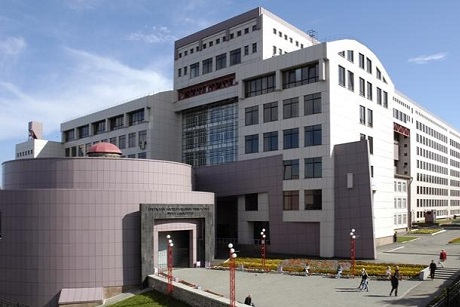 Здание ИрГУПС. Фото с сайта www.irgups.ru