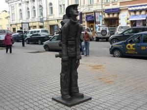 Памятник «Турист». Фото IRK.ru