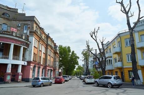 Улица Чудотворская. Фото Ильи Татарникова