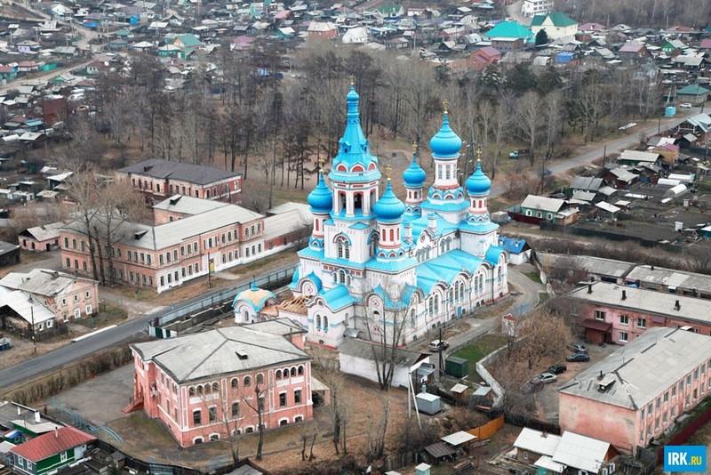 Князе-Владимирский храм в Иркутске. Автор фото - Игорь Дремин