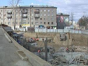 На месте строительства. Фото АС Байкал ТВ