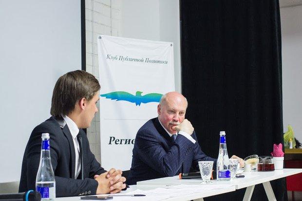 Павел Степанов и Дмитрий Мезенцев. Фото предоставлено Клубом публичной политики