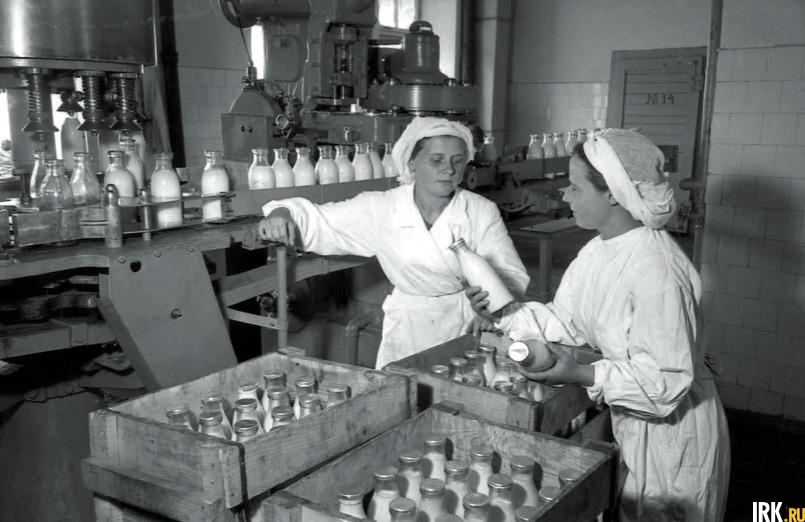 Фотографии из архива Иркутского гормолзавода