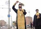Освящение улицы. Фото АС Байкал ТВ