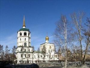 Спасская церковь в Иркутске. Фото с сайта www.panoramio.com